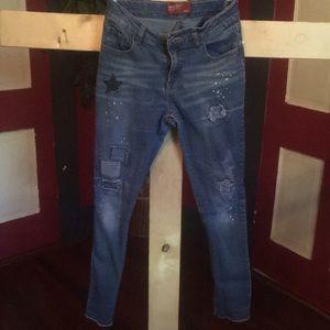 Arizona girls skinny ankle jeans